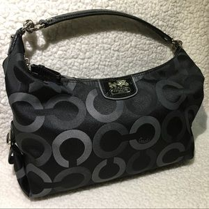 Coach Madison Sateen Hailey Convertible Hobo Bag